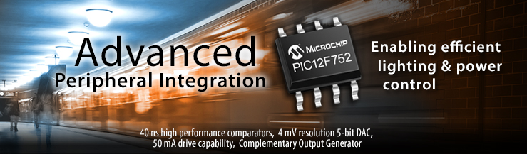 Advanced Peripheral Integration - PIC12F752